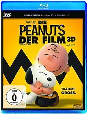 DIE PEANUTS, Der Film (Blu-ray 3D + Blu-ray Disc) NEU+OVP