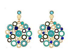 MARNI H&M  Crystal Circle Earrings