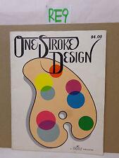 MAGAZINE TOLE BOOK ONE STROKE DESIGN DAISY PUBLICATION DALE SWANT 1976