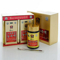 240g(8.5oz) X 2ea, 100% Pure Korean 6Years Root Red Ginseng Extract, Saponin