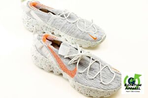 Nike Space Hippie 04 This is Trash Gray Orange Shoes Men's Size 13 CD3476-100
