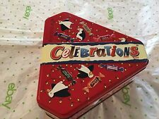 M & M Mars celebrations metal tin