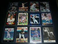 HUGE LOT OF 50 DIFFERENT FRANK THOMAS CHICAGO WHITE SOX BASEBALL CARDS - INSERTS