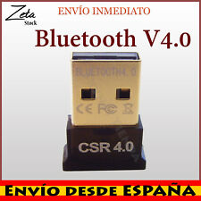 Bluetooth V4.0 USB 2.0 Mini  Adaptador inalámbrico Dual Mode CSR4.0 3Mbps