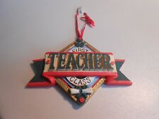 Midwest of Cannon Falls Ceramic First Class Teacher Ornament