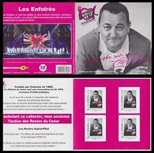 2010 FRANCE Collector N°82 B/TB Coluche - Les enfoirés- Les Restaurants du Coeur