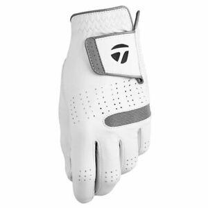 TaylorMade TP Tour Preferred Flex Men's 2018 Golf Glove White - Pick Size