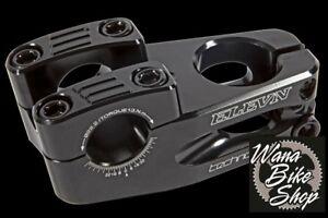 "Black Top Load Elevn BMX Stem Threadless 1/"" 40mm"