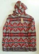 Ralph Lauren Denim & Supply Aztec Hoodie Sweatshirt southwestern Navajo Polo XXL