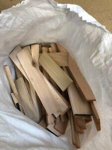 Job lot of Timber Oak Walnut Maple Ash St.Beech Bag of timber Woodworking Crafts