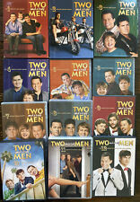 TWO AND A HALF MEN Tv Series Complete Seasons Series Dvd 1-12 EUC