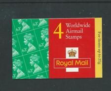 Gr1, Type 7(10)B, Cyl: W1 W1, Olympics, 4 X 63p, Worldwide Barcode Booklet