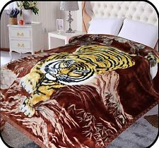 Hiyoko Tiger Animal Mink Blanket Throw Bedspread Comforter Coverlet 90x75