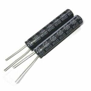 10pcs 450v 47uf 450volt 47mfd 105c aluminum electrolytic capacitor 10×50mm