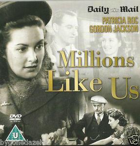 Millions Like Us - Patricia Roc and Gordon Jackson,Anne Crawford Promo dvd