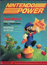 1988 Nintendo Power Magazine First Issue #1 NES Super Mario 2 Zelda Nice