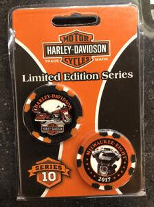 Harley-Davidson Limited Edition Poker Chips Series 10 DAR6710