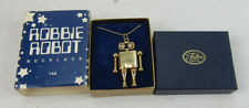 Robbie Robot Lost In Space Pendant Necklace Fuller Brush Co Premium