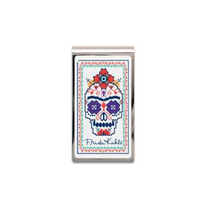 "ACME Studio ""Sugar Skull"" Money Clip by Frida Kahlo NEW"