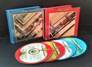 4CD's The Beatles 62-66 / 67-70 Red & Blue albums