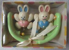 TOLO Baby - RATTLE - Bunny Rocker - 3+ Months - in Gift Box  Baby Shower Newborn