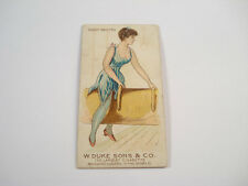 DUKE TOBACCO CARD ~ GYMNASTICS SADDLE VAULTING