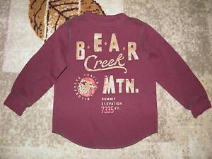 GAP KIDS Bear Creek Mtn. Knit Shirt Size XS(4-5)