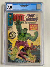 Tales to Astonish #95 CGC 7.0 - White Pages! - Incredible Hulk/Sub-Mariner