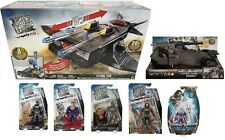 DC Justice League Flying Fox Mobile Command Center Playset +(5) Figures+Vehicle