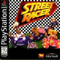 Street Racer - PS1 PS2 Playstation Game