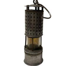 Vintage KOEHLER PERMISSIBLE Coal Miner Flame Safety Lamp Lantern Untested