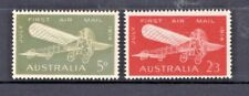 AUSTRALIA 1964-ANNIVERSARY 50TH OF FIRST AIRMAIL COMPLETE SET OF 2 MUH