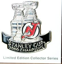 New Jersey Devils 2000 Stanley Cup Commemorative Pin - NEW IN PACKAGE