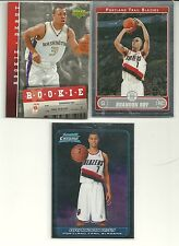 (3) BRANDON ROY RC LOT 2006-07 TOPPS & BOWMAN CHROME + UD