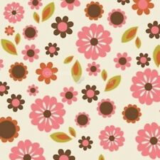 Indian Summer Cream Floral by Zoe Pearn for Riley Blake, 1/2 yard cotton fabric