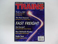 Trains Magazines November 2001 Every Train Room Needs These!