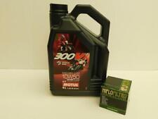 Motul 300V² 10W50  / Ölfilter KTM 1190 RC8 alle Modelle auch R , R Track