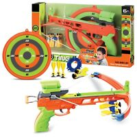 Kids Large Crossbow and Arrow Set Archery Toy Shooting Target Practice Outdoor