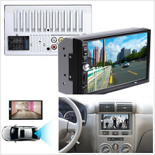 "7"" 2-Din video per Auto Radio Stereo Lettore MP5 FM Bluetooth HD Di Retromarcia Kit fotocamera"