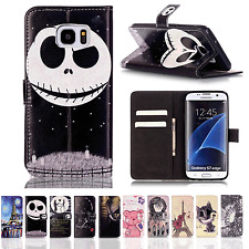 Luxury Magnetic Flip Leather Bool Wallet Case Cover For iPhone SE 6 Samsung A510