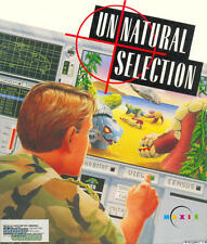 Unnatural Selection PC CD evil scientist created race of monsters genetics game!