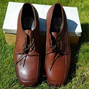 Vintage New McHale Flexline Oxford Mens Shoes Size 11 2E Lace Up Made in Canada