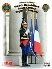 New ICM 16007 - 1/16 - French Republican Guard Cavalry 1 figure scale model kit