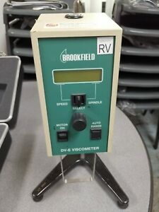 Brookfield DV-E Viscometer with RV Spindle Set and Stand