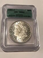 1881 - O ICG MS62 Morgan Silver Dollar - Green Label!