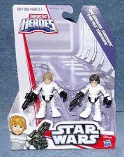PLAYSKOOL Star Wars Galactic Heroes - LUKE SKYWALKER & HAN SOLO STORMTROOPER
