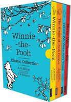 Winnie the Pooh Classic Collection 4 Books Box Set Childrens Classics Gift Pack