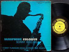 SONNY ROLLINS Saxophone Colossus LP PRESTIGE PRLP 7079 US 1956 W.50th RVG MONO