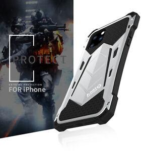 R-just Stoßfest Schutzhülle Outdoor Case Cover Metall Rahmen f iPhone 11 Pro Max