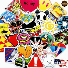 Stickers 100 Skateboard Vinyl Car Laptop Luggage Decals Dope Sticker Kids Random